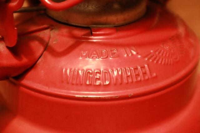 WINGED WHEEL No.500 ランタンのタンクロゴ
