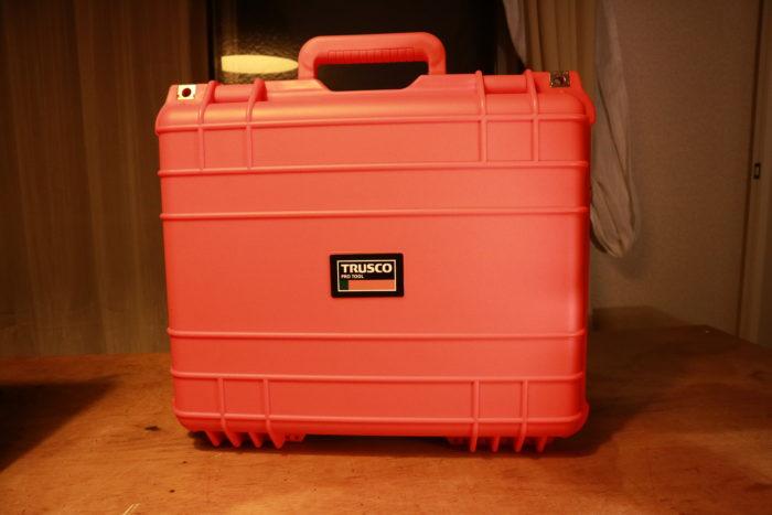 TRUSCOプロテクターツールケースのオレンジのL