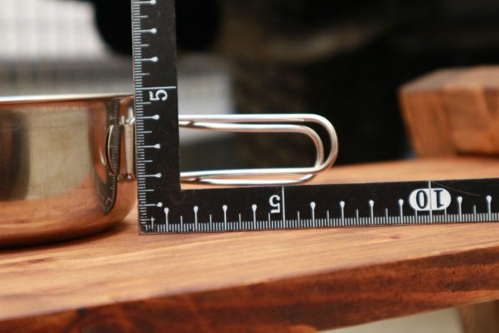 ダイソーのアウトドア用ステンレス食器(クッカー)の小