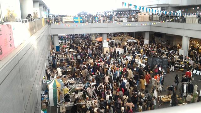 第10回東京蚤の市の開催風景