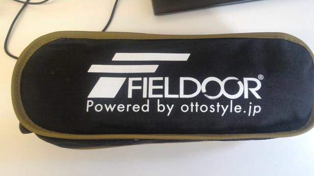 FIELDOOR製のポータブルコンパクトアウトドアチェアの開封