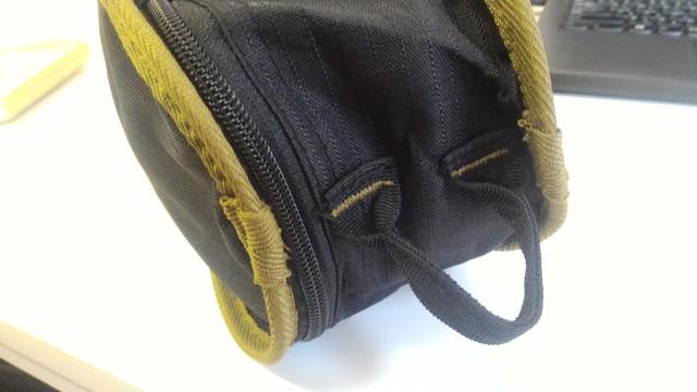 FIELDOOR製のポータブルコンパクトアウトドアチェアの袋