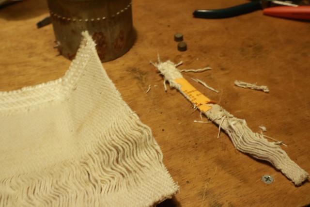 サンエム養蚕用石油ストーブの代替芯