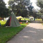 【リライト】久しぶりにテント張ったよw 彩湖道満グリーンパーク