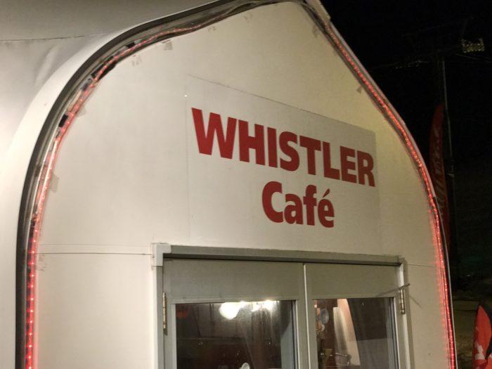 苗場プリンスのWHISTLER Cafe