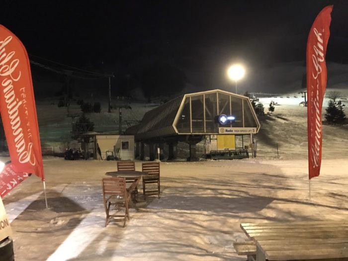 苗場スキー場のナイター
