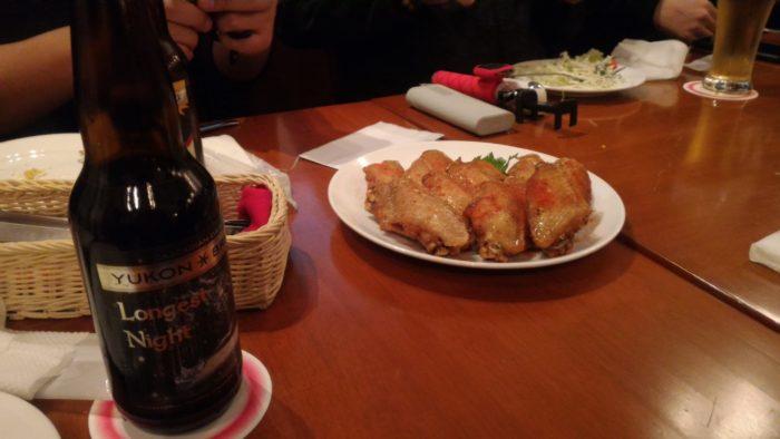 苗場スキー場のWHISTLER Cafeで夕飯