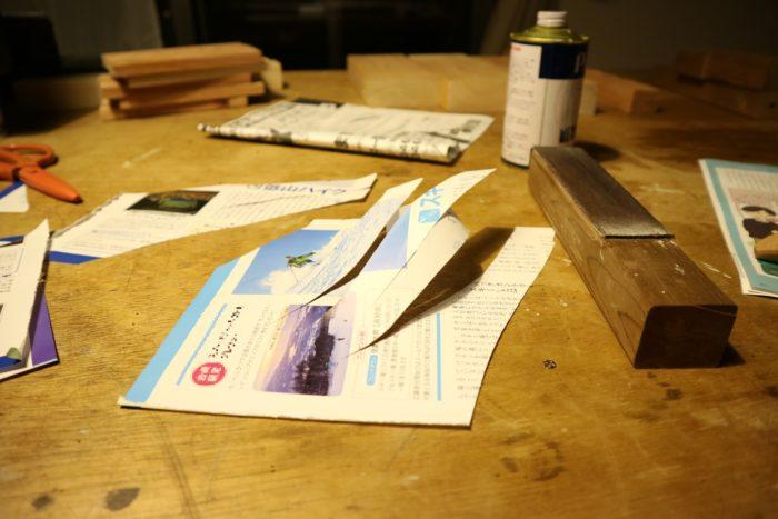 革砥にピカールで研いだ後の切れ味