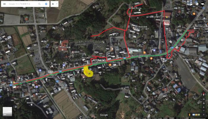 益子陶器市散策の地図
