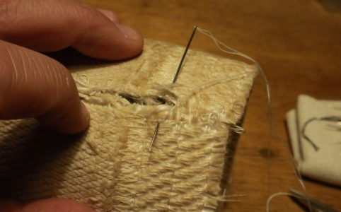 サンエム養蚕用石油ストーブの芯縫製