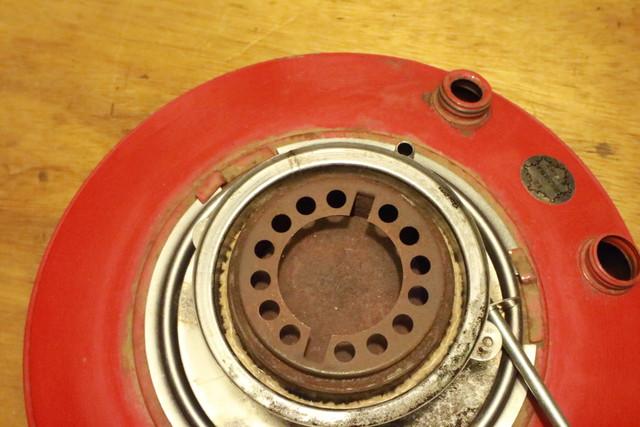 サンエム養蚕用石油ストーブの芯調整器