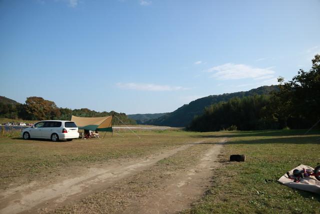 オートキャンプ那珂川ステーションのキャンプサイト