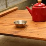 囲炉裏テーブルをローテーブルに?!