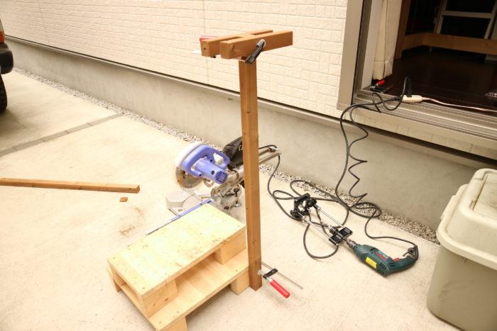 囲炉裏テーブルのローテーブルキットを作る