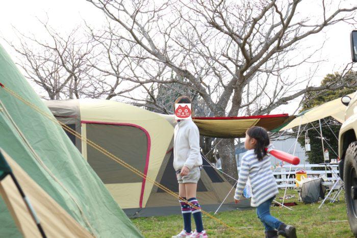森のまきばオートキャンプ場で遊ぶ
