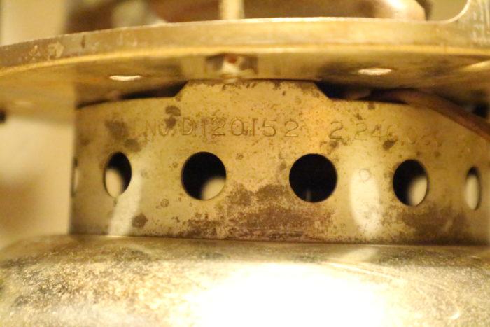 Colemanのシングルストーブのスピードマスター(SPEED MASTER)No.500