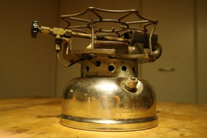 Colemanのシングルストーブのスピードマスター(SPEED MASTER)No.500の全貌