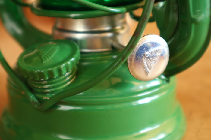 WINGED WHEEL No.350 色付きホヤの緑の火力調整ダイヤル
