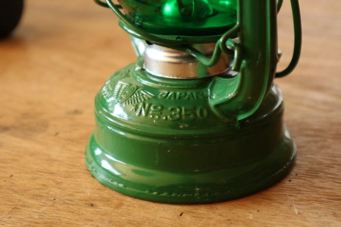 WINGED WHEEL No.350 色付きホヤの緑の燃料タンクロゴ