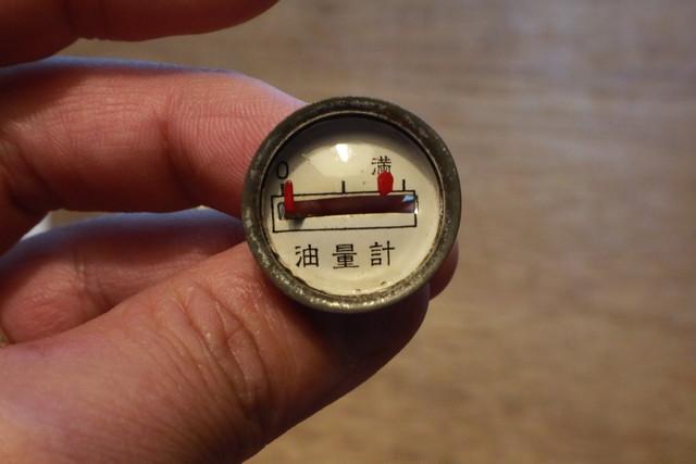 サンエム養蚕ストーブの燃料計