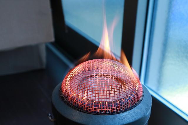 サンエム養蚕ストーブの燃焼筒