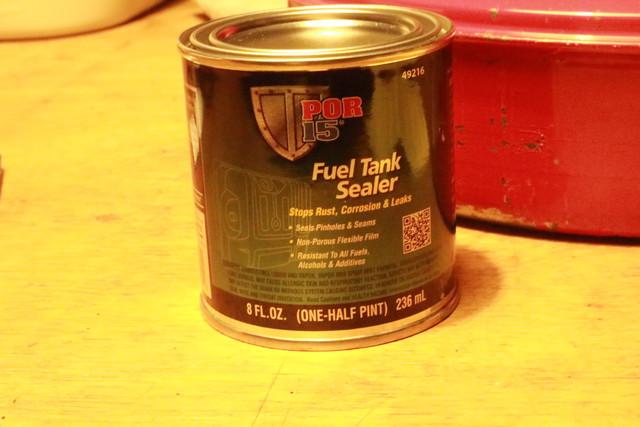 サンエム養蚕ストーブの燃料漏れ修理に使ったキタコ タンクシーラー