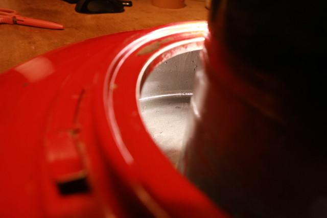 サンエム養蚕ストーブの燃料漏れ修理に使ったキタコ タンクシーラーを入れた後