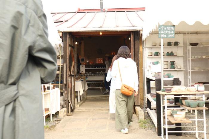 2017春の益子陶器市のKENMOKUテント村