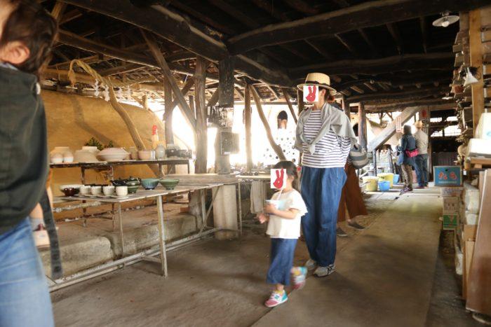 2017春の益子陶器市の古窯いわした