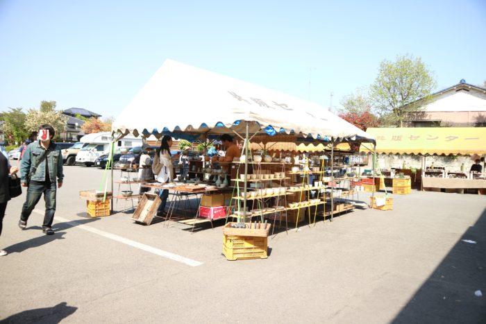 2017春の益子陶器市の共販センター