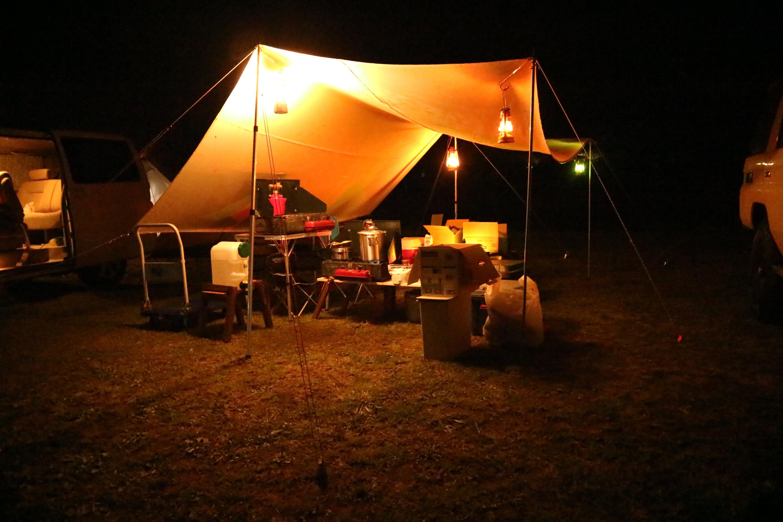 益子陶器市キャンプの宿泊先のオートキャンプ那珂川ステーション