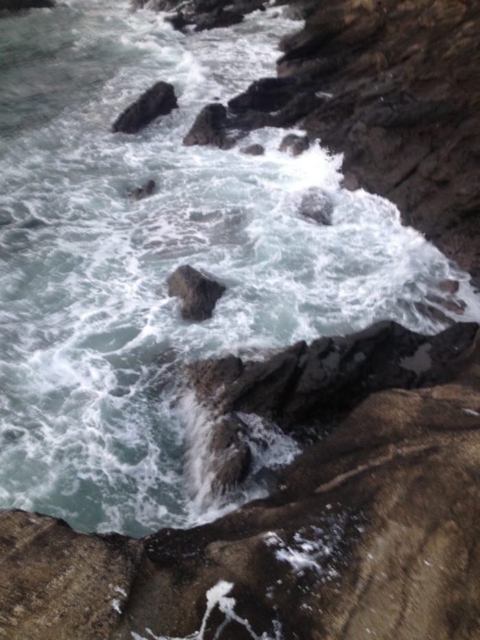 大房岬キャンプ場の海