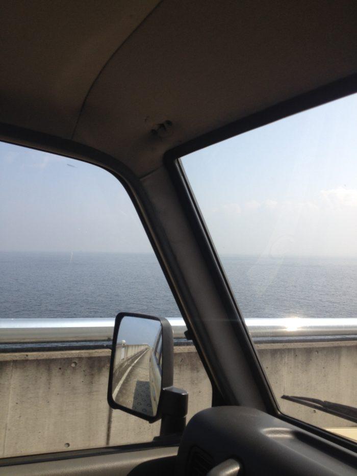 海ほたるからの東京湾