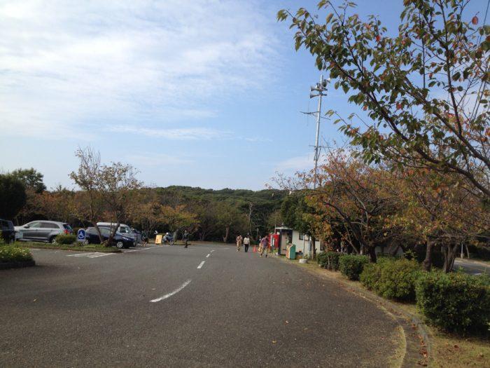 大房岬キャンプ場の入口