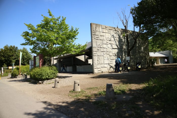 GWの上大島キャンプ場の炊事棟