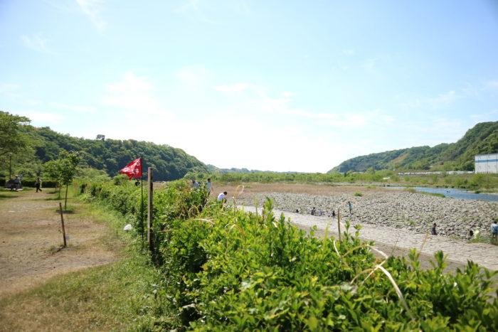 GWの上大島キャンプ場