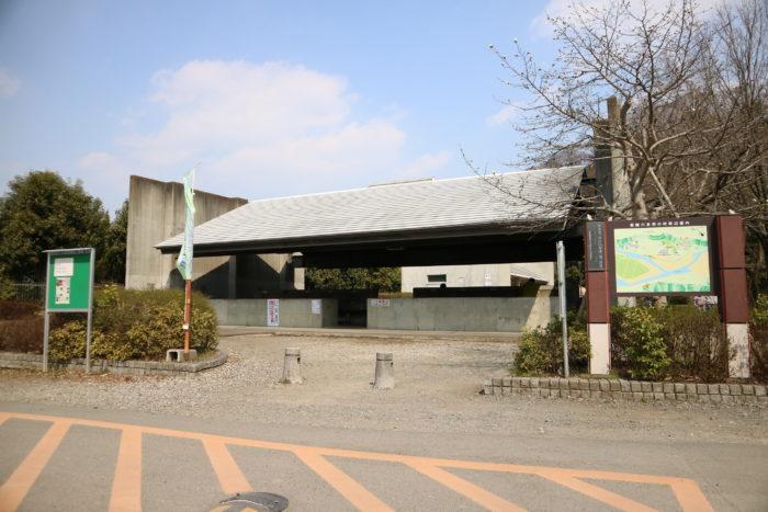 上大島キャンプ場の炊事棟