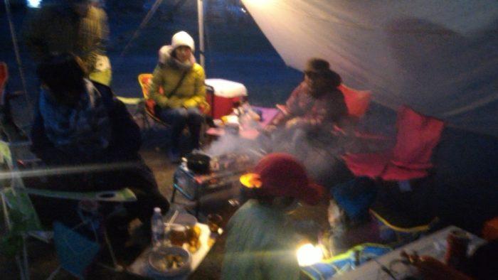 北軽井沢スウィートグラスでキャンプの夜