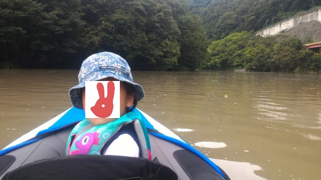 荒川の玉淀湖をカヤックで探検する