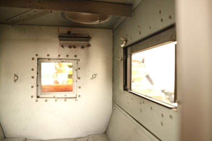新保製作所のチョッパープロトタイプの燃焼室