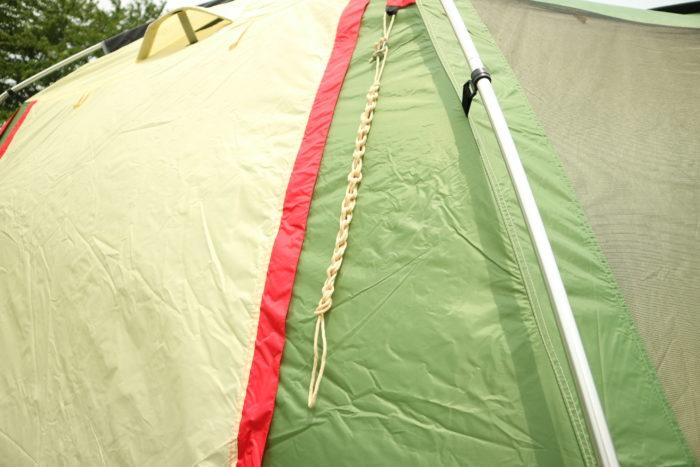 テントのロープをコンパクトに仕舞う