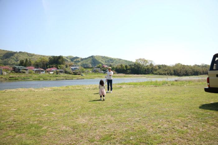 2017益子陶器市の宿泊先のオートキャンプ那珂川ステーション