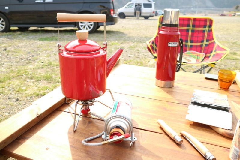 デイキャンプにてBULIN(歩林) BL100-B3を使ってお湯を沸かす