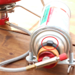 分離型バーナーのCB缶固定方法について