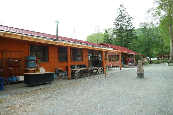 菅沼キャンプ村の受付