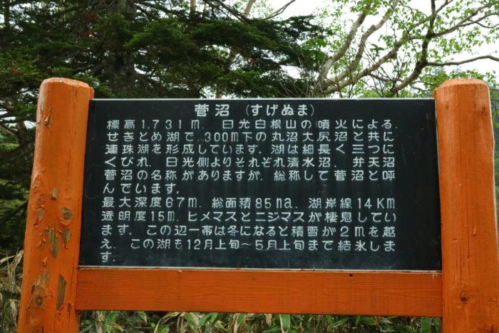菅沼の看板