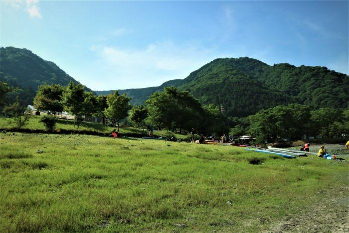 第17回カヌーマラソンIN丹沢湖の開催日の朝