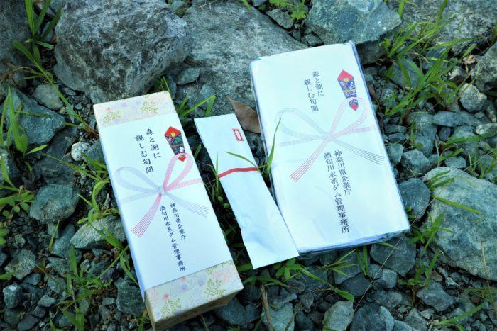 第17回カヌーマラソンIN丹沢湖の参加賞