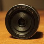 単焦点レンズ CANON EF-M 22mm F2 買いました!