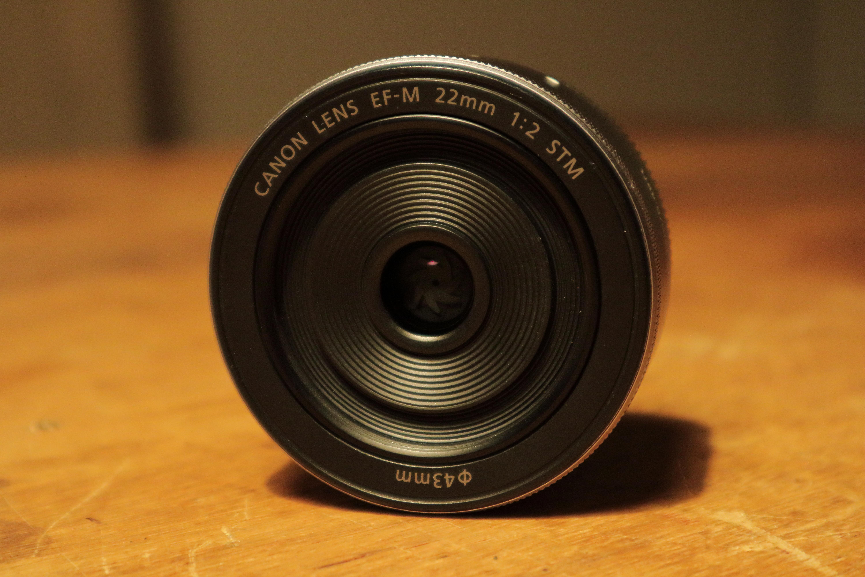 CANONレンズ EF-M 22mm f2 をカメラのキタムラで買ってきた!